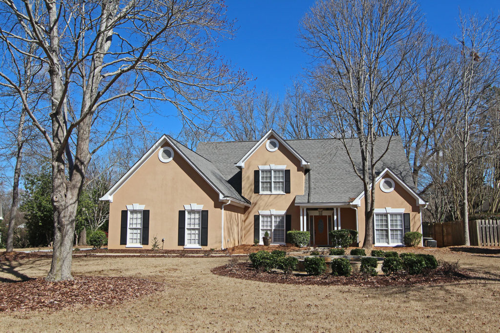 Master on main home for sale in Johns Creek